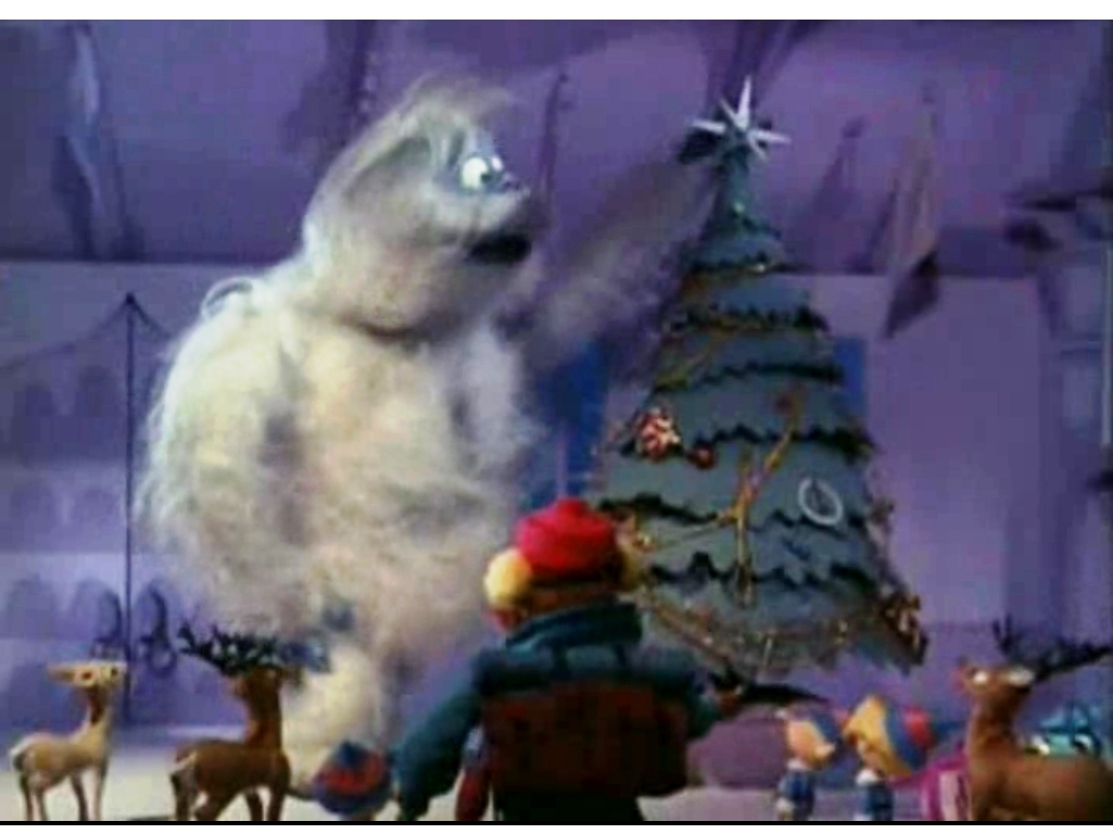 Christmas Fear And The Abominable Snowman Glory Rises